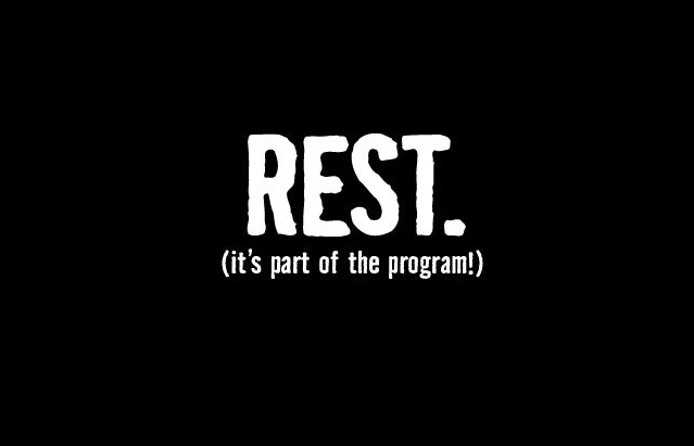Are Rest Days Bad?